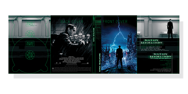 Print - Entertainment - Film - The Matrix Box Set - International DVD Packaging - Production - Client: Confidential